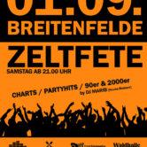 Zeltfest Breitenfelde 2018